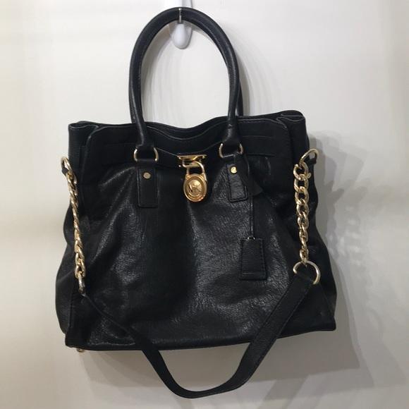 MICHAEL KORS Authentic Black Tote Bag